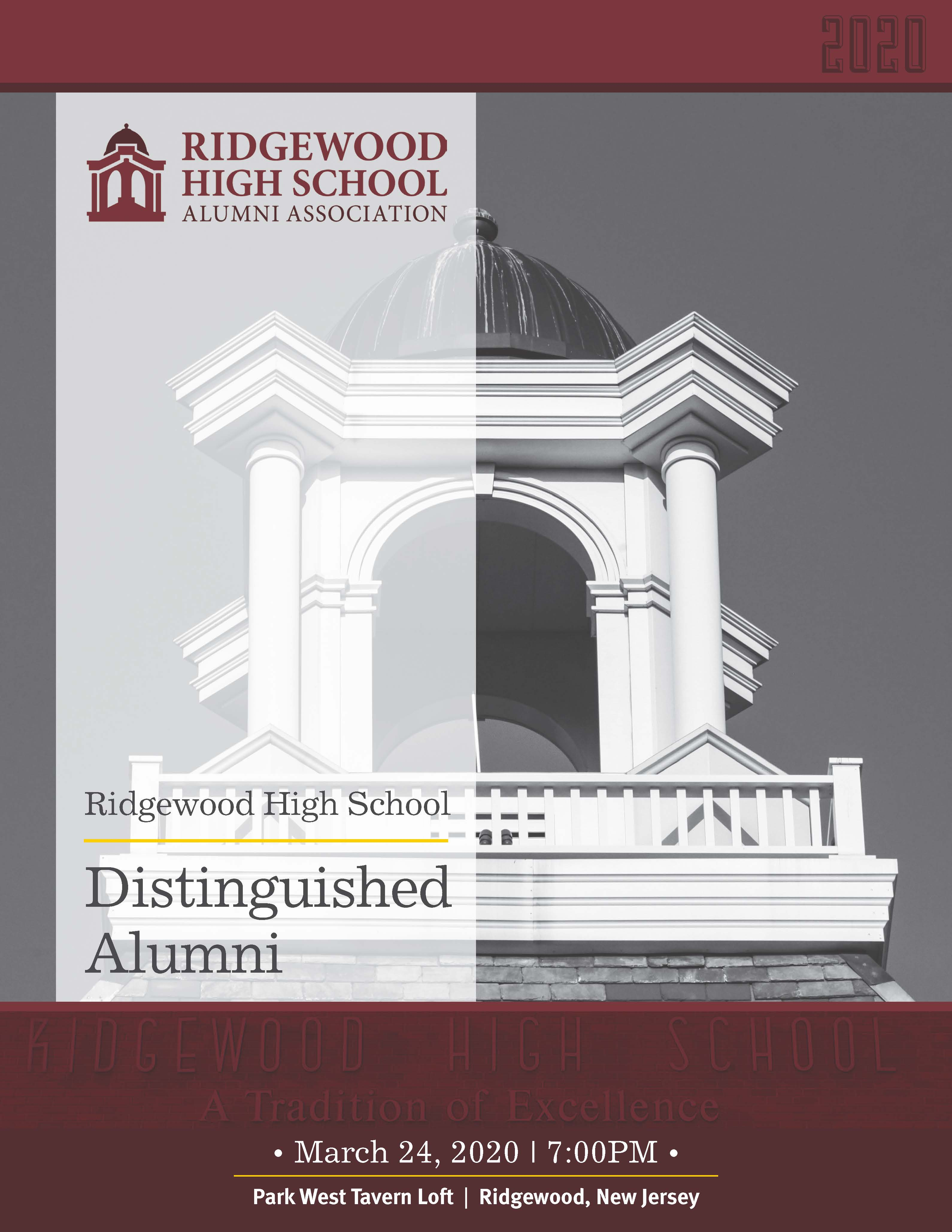 RHSAA Distinguished Alumni Book 2020 COVER